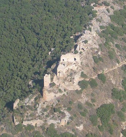 Las ruinas del Castillo de Monfort