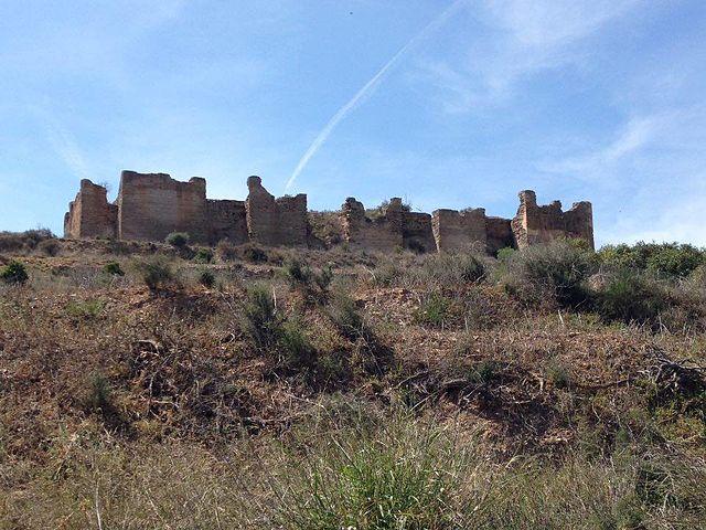 Restos del Castillejo de Monteagudo