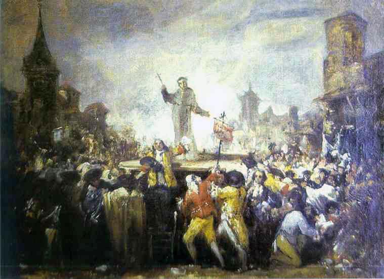 El Motín de Esquilache, cuadro atribuido a Goya