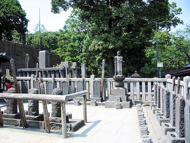 Las tumbas de los 47 ronin