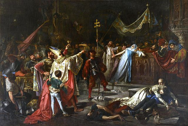 El Saqueo de Roma por Francisco Javier Amérigo