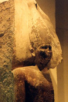 Estatua de Seneferu en el Museo del El Cairo