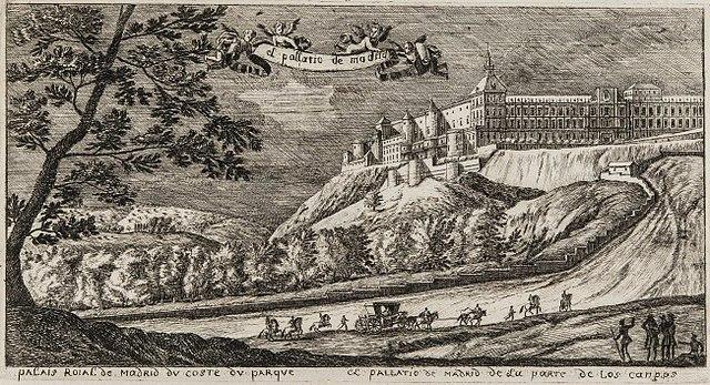 Dibujo del Alcázar