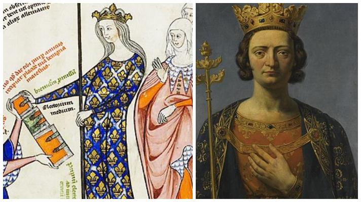 Juana II de Borgoña y Felipe V el Largo