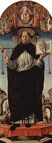 Pintura de San Vicente Ferrer