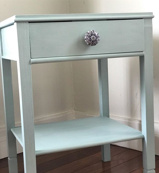 Sourced and styled for my friend @katherineraeside for her daughters bedroom ...bookcase on the way! #bedsidetable #refinishedfurniture #girlsroomdecor #furnituremakeover