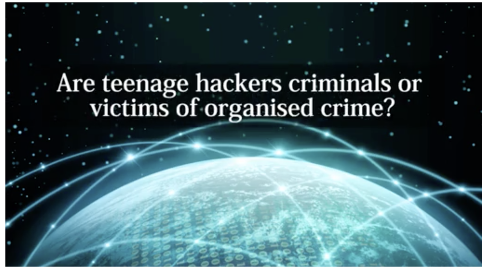 WATCH: Dr Mary Aiken - Are teenage hackers criminals or victims of organised crime?