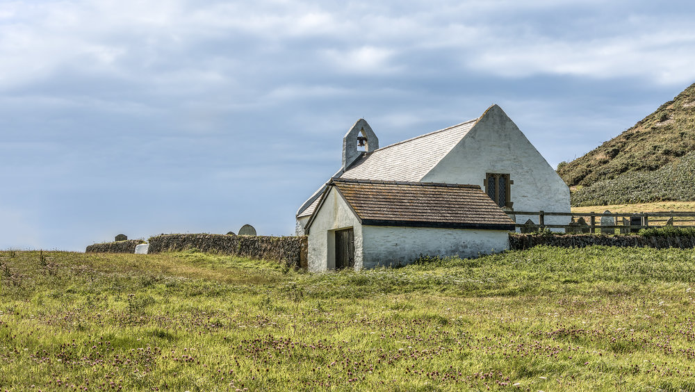 Church of the Holy Cross at Mwnt circa 13th Century
