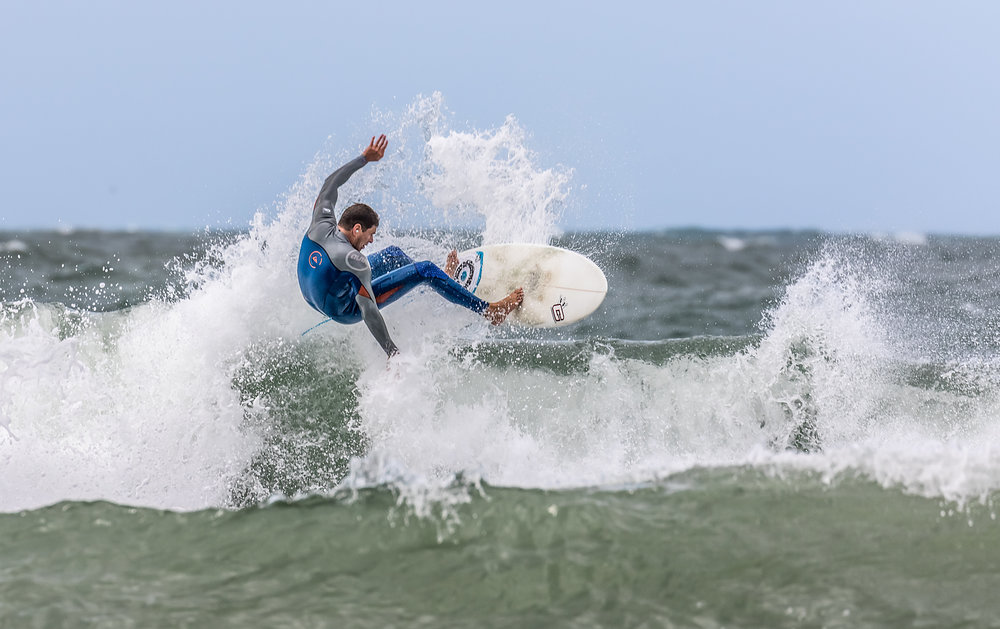 Surfer at Llangrannog #1