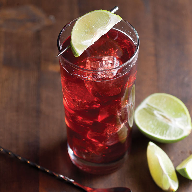BLUE SKY TEST 1.5 oz. BD Grapefruit Whiskey .5 oz. Vanilla Vodka 1 oz. Cranberry Juice > Build in a tall glass by filling with ice and adding in all ingredients. Stir to combine and garnish with lime.