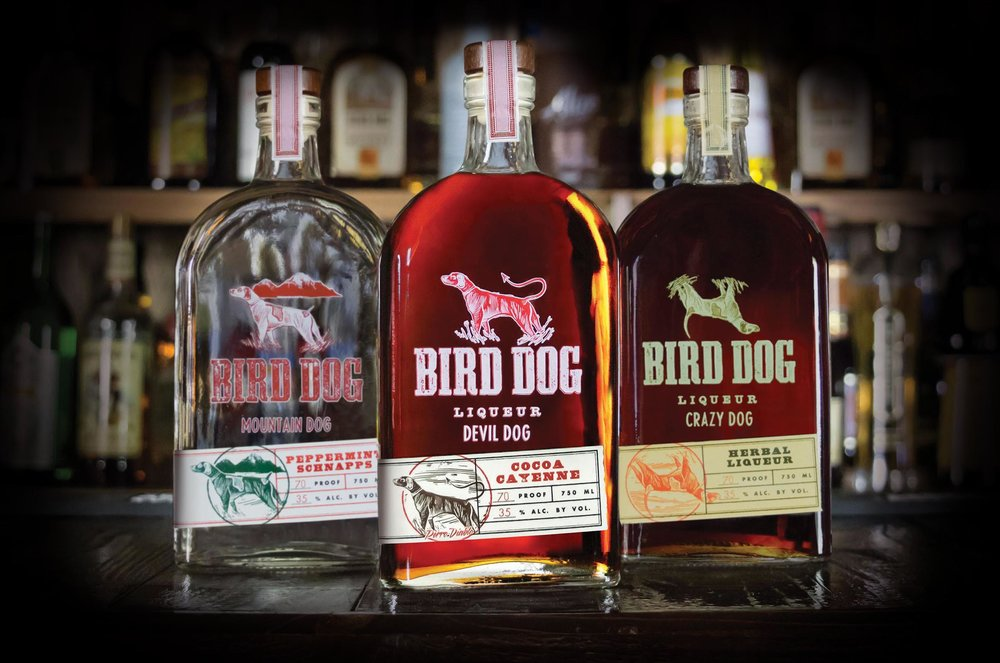 Bird Dog Liqueur Series - 3 Up