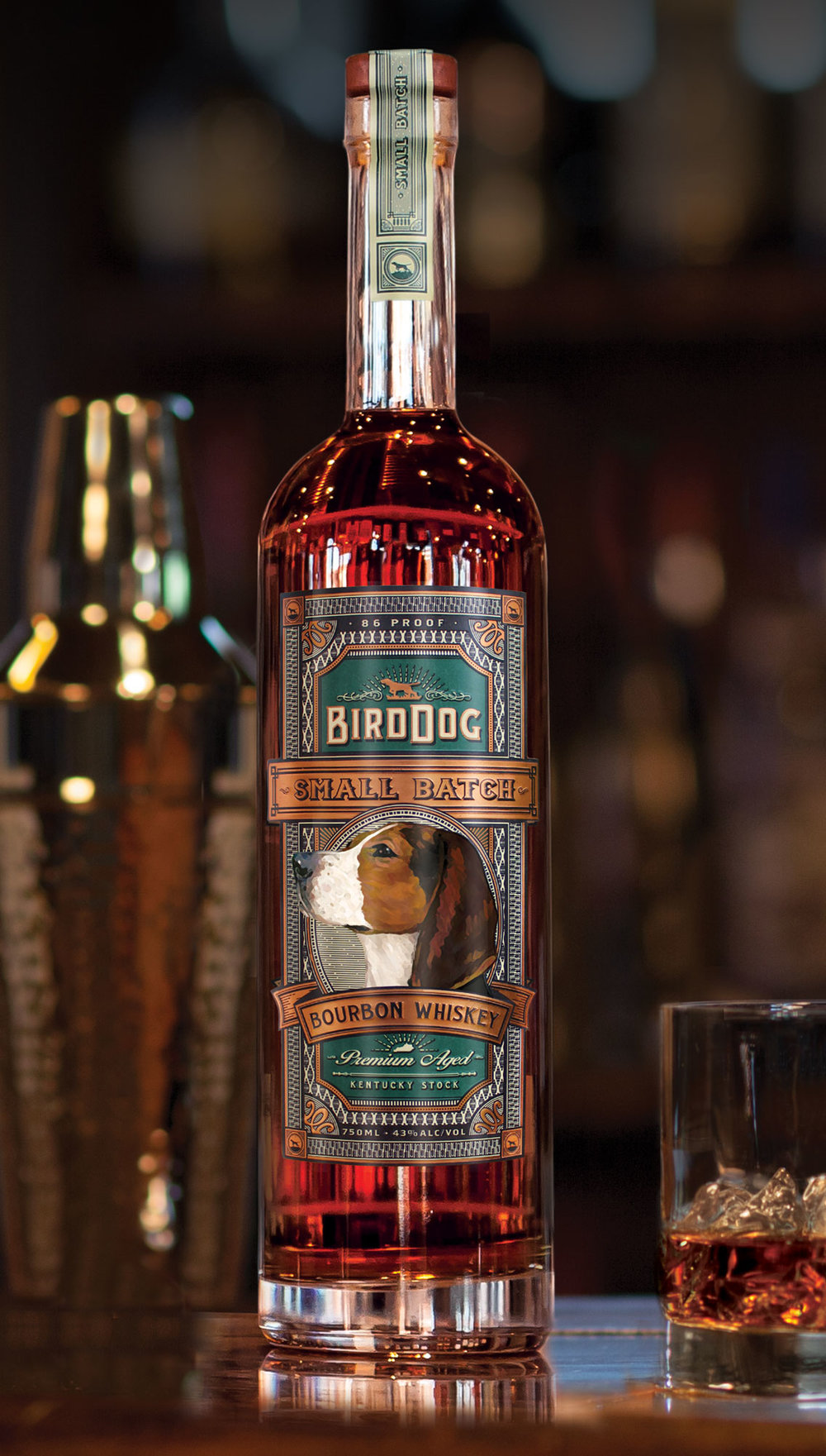 Bird Dog Small Batch Kentucky Bourbon