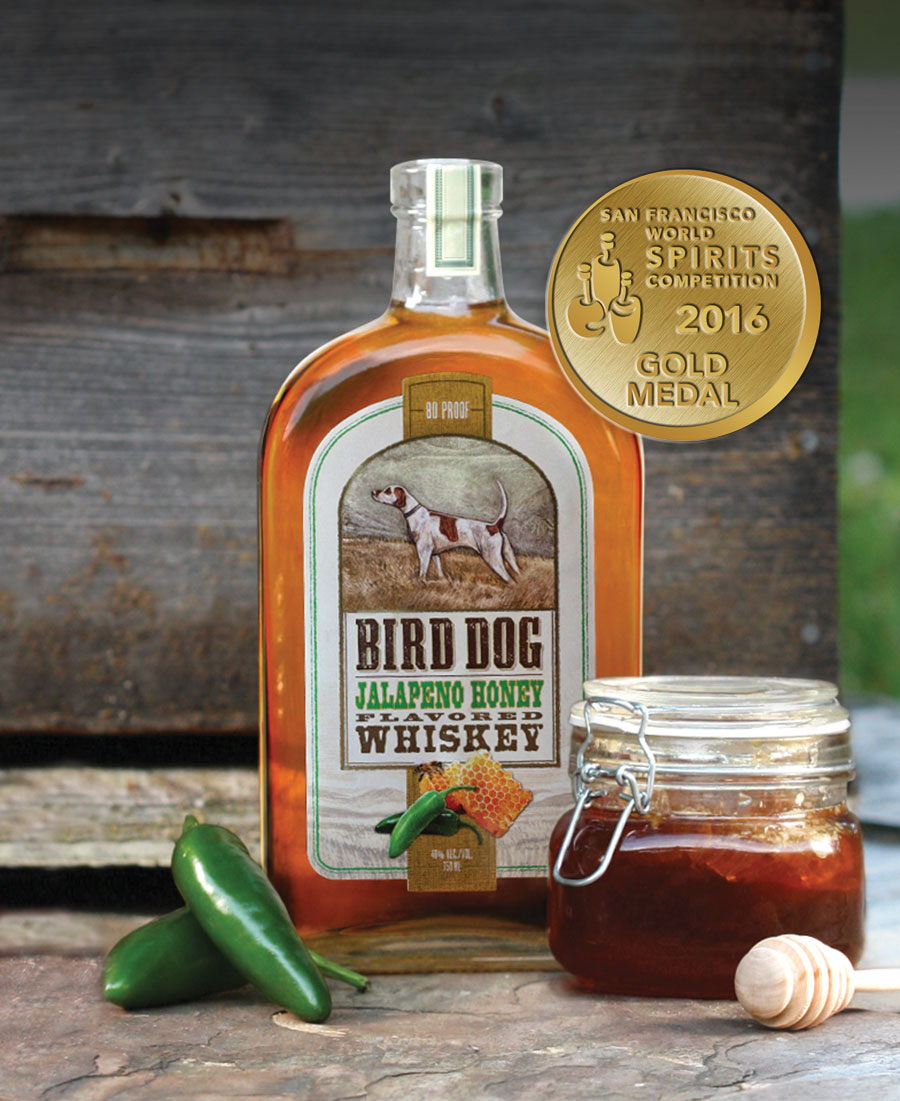 Bird Dog Jalapeno Honey-750ml