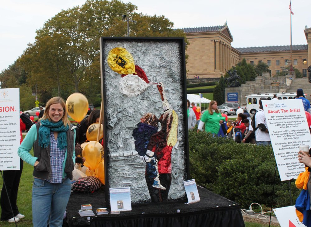 Commission for Leukemia and Lymphoma Society's Light the Night Walk, Philadelphia 2011