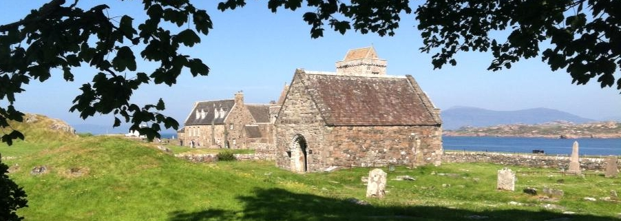 St. Oran's Chapel & Graveyard, Iona, Scotland (photo by G. Foraker)