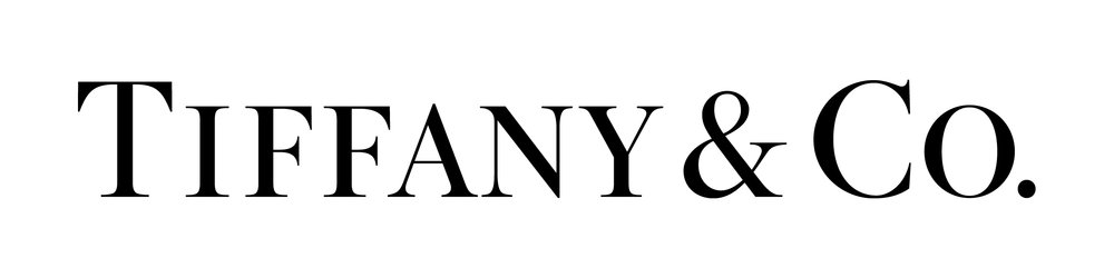 The Tiffany logo - The Tiffany logo had evolved over the years to be a mash up of type styles. We hand drew the logo, refining letterforms and fixing spacing, while retaining it's classicism.
