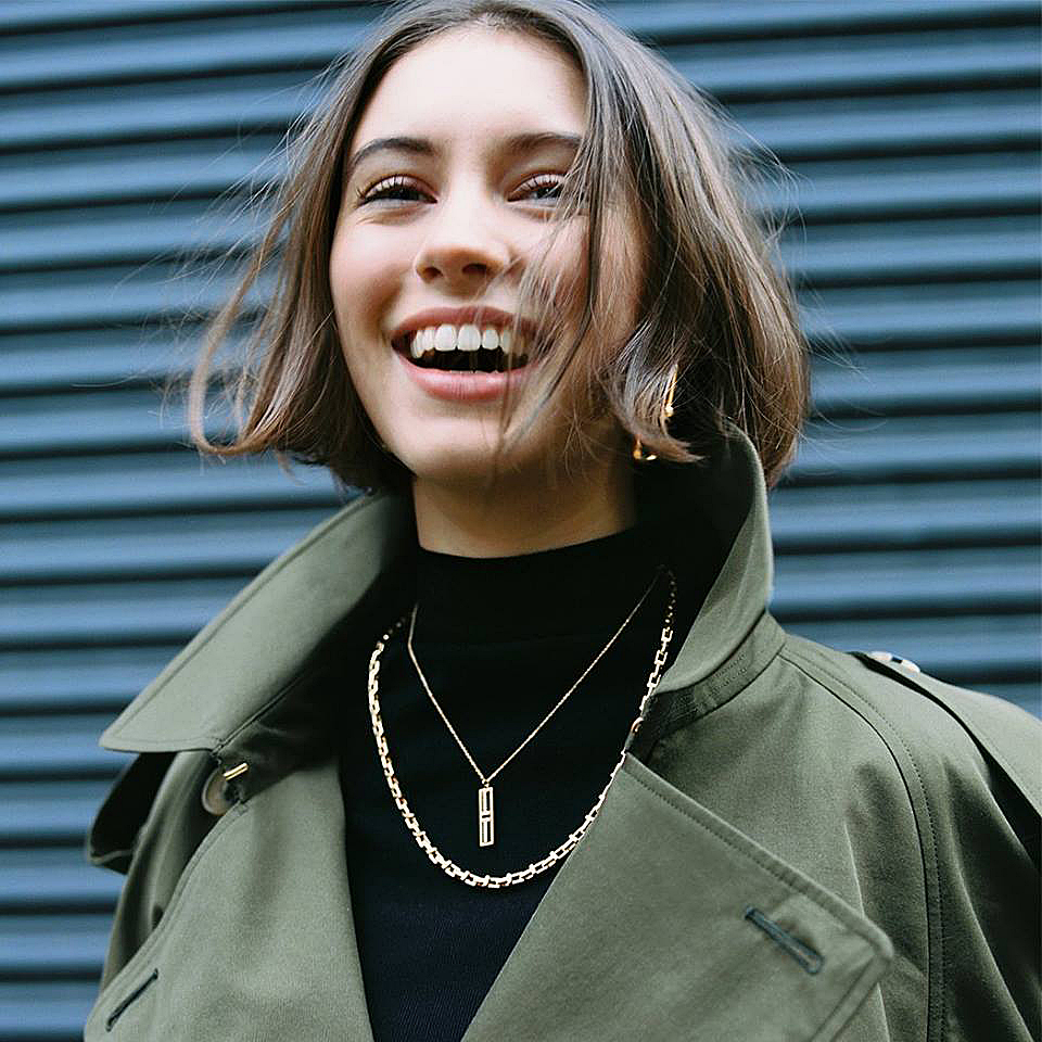 On the street - When Tiffany wanted to make a style statement with their Hardware collection, we hired photographer Renell Mandrano to catch London's coolest during fashion week.