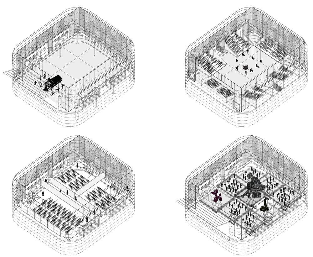Secondary Hall Flexibility Diagrams.