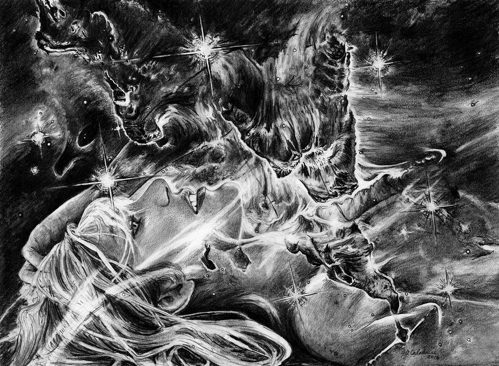 Carina Emission Nebula: Heart of Darkness