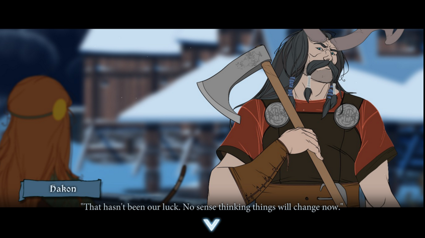 Hakon isn't wrong. Most of the luck in  The Banner Saga 2   is bad luck.