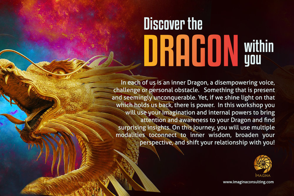 Discover the Dragon Within - November 18, 2016. 6-8pm. 138 W. 15th St. NYC