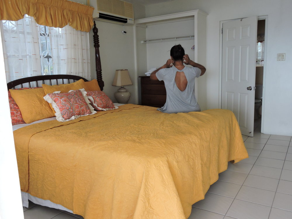 Starapple Suite, Rock Villas, Montego Bay, Jamaica, Master Bedroom With  Private Bath