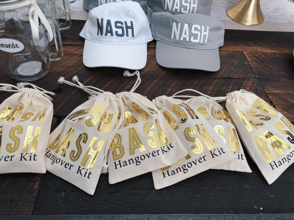 Bashnash party favors and decor.JPG