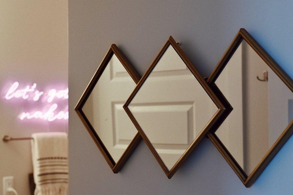 three triangle wall mirror decor.JPG