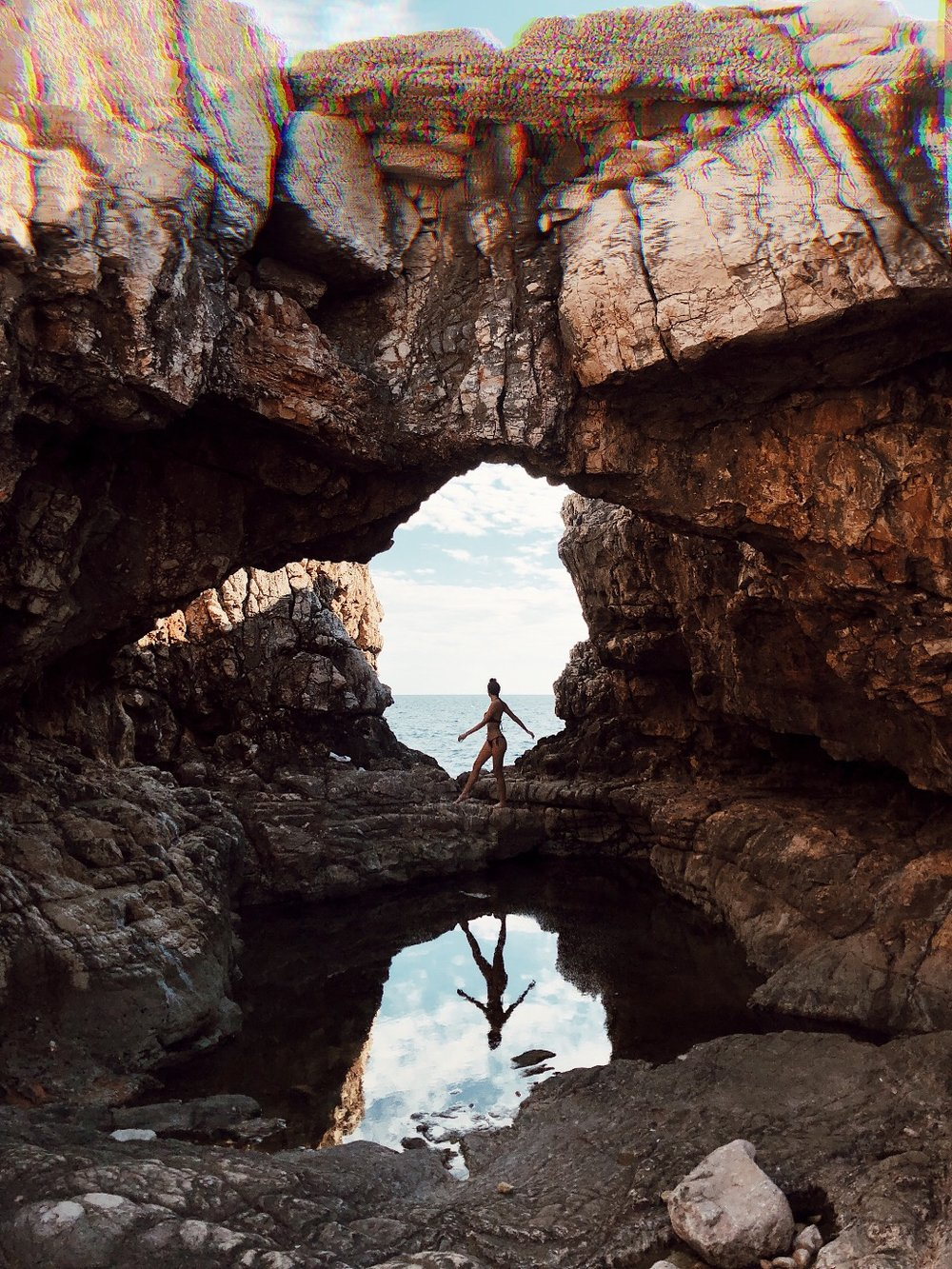 island of lokrum the cave.JPG