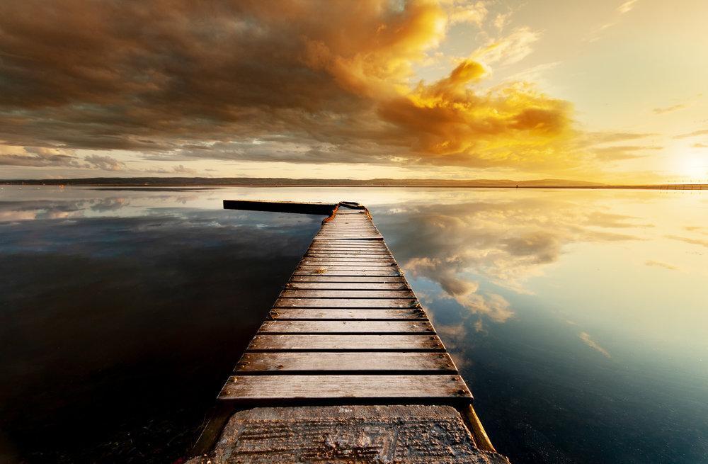 Marine Lake Jetty Sunset.jpg
