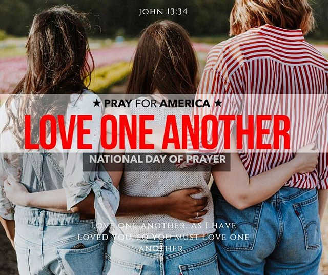 "National Day Of Prayer ""A new command I give you: Love one another. As I have loved you, so you must love one another. . .  #fyndoutfreepregnancy #fairbanksalaska #fairbanks #alaska #pregnancy #ultrasound #freeultrasounds #parentingclass #nonprofitorganization #ministry  #newbornbaby #newbornbuy #newborngirl #newbornphoto #chooselife #fyndoutpath #mariascloset"