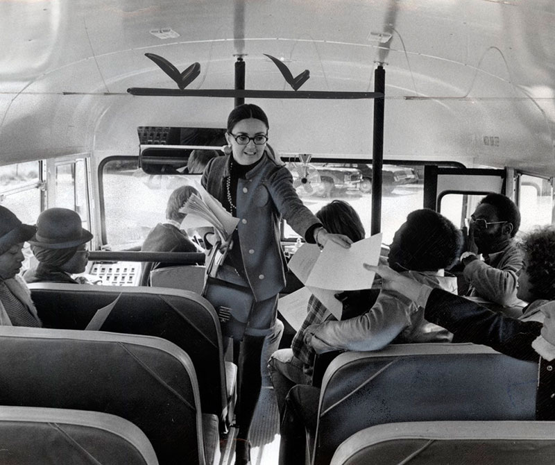Boston school desegregation/busing