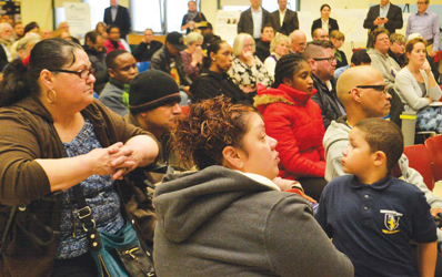 Over 200 residents attended last month's meeting, the first that invited the entire community to begin weighing in on the project.