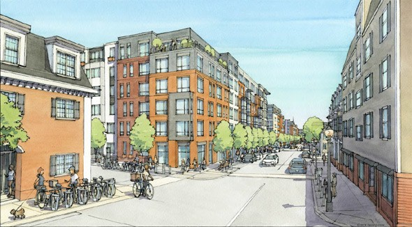 Planning by Stantec, renderings by David Carrico of Carrico Illustrations