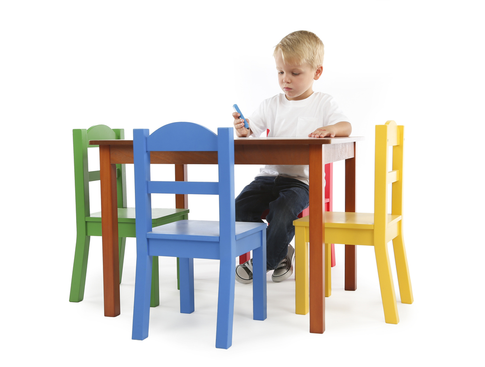 focus wood table u0026 4 chairs - Toddler Wooden Table And Chairs