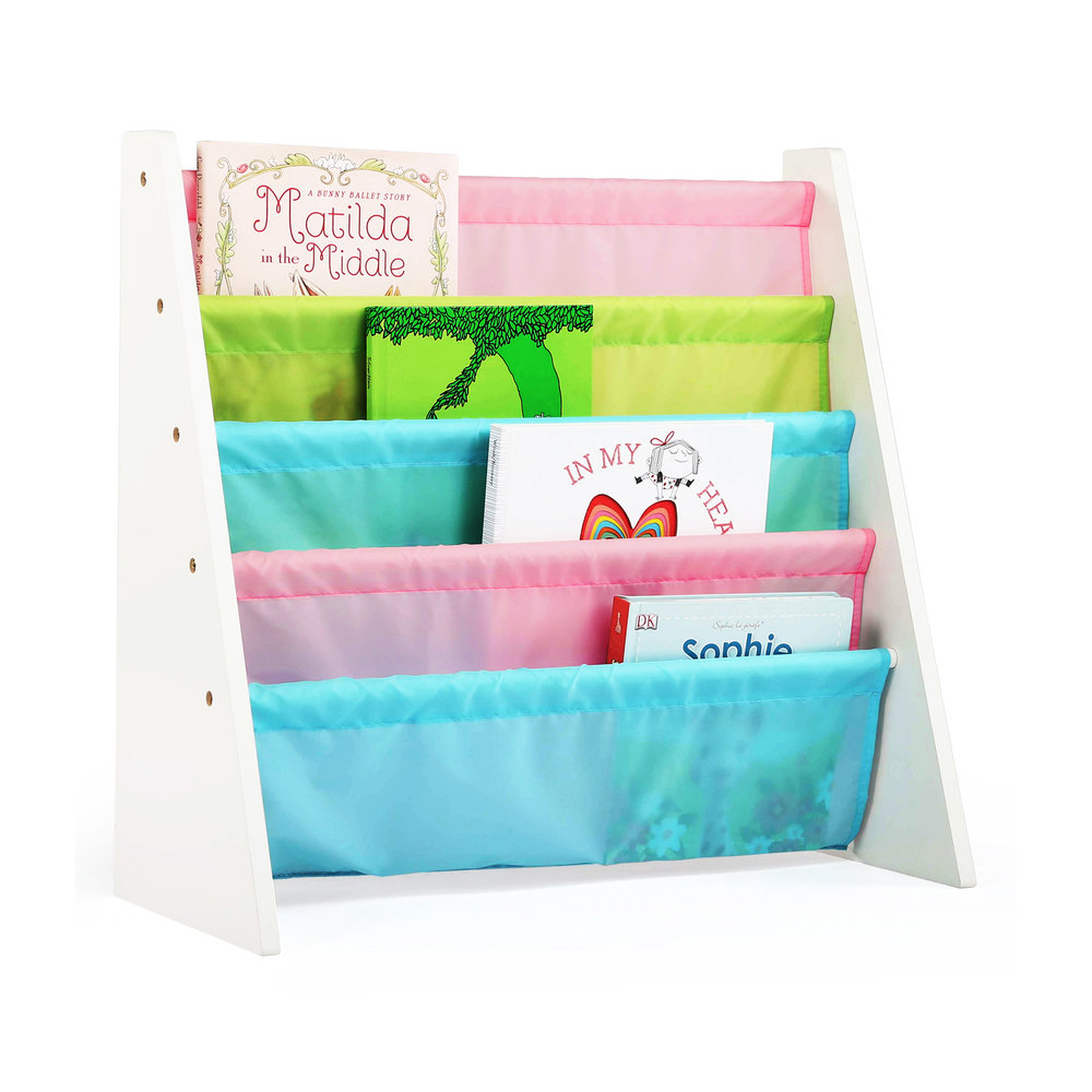 pastel book rack - Tot Tutors Book Rack Primary Colors