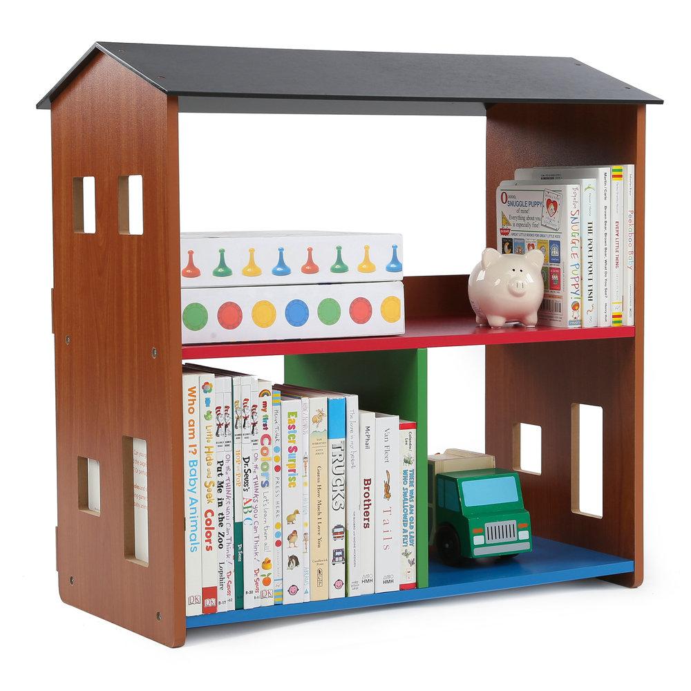 focus playtime bookcase tot tutors - Tot Tutors Book Rack Primary Colors
