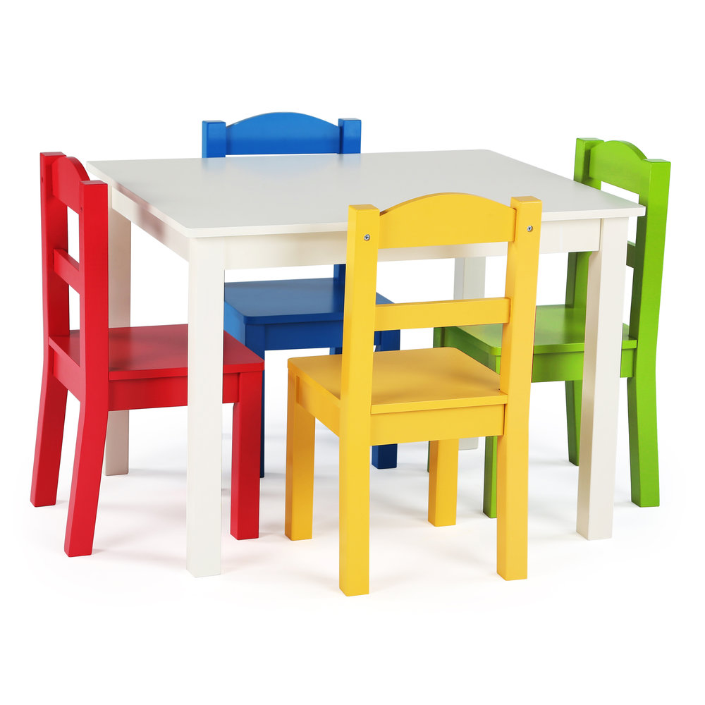 Summit Table U0026 4 Colored Chairs