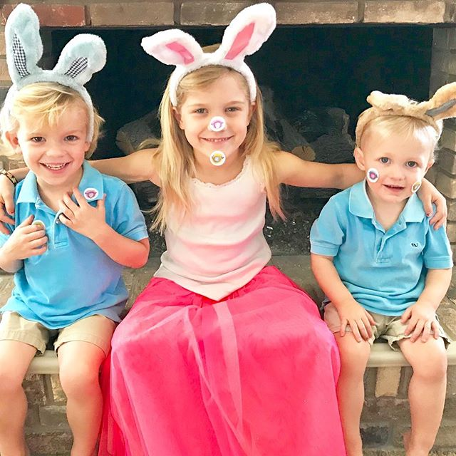 Love somebunny! Happy Easter from our family to yours 🐰🐰