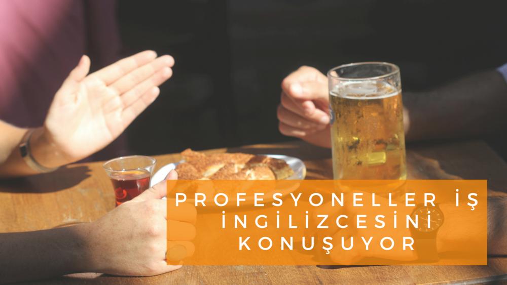 Profesyoneller iş İngilizcesini Konuşuyor