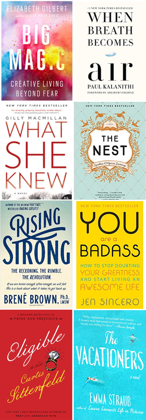 books to read summer 2016 - by stephanie design