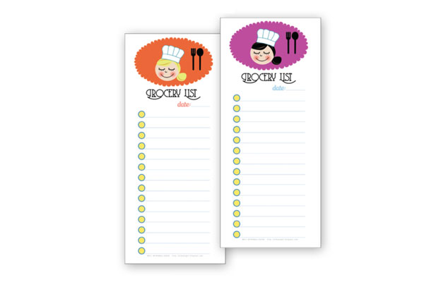 Free Printable Grocery List Template   By Stephanie Design  Printable Grocery List Template Free