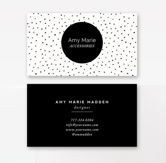 business card template - by stephanie design