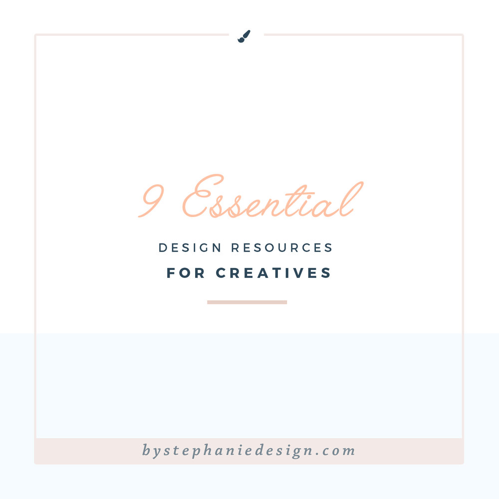9 essential design resources for creatives - by stephanie design