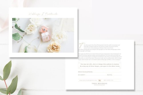 Print Release Template For Photographers