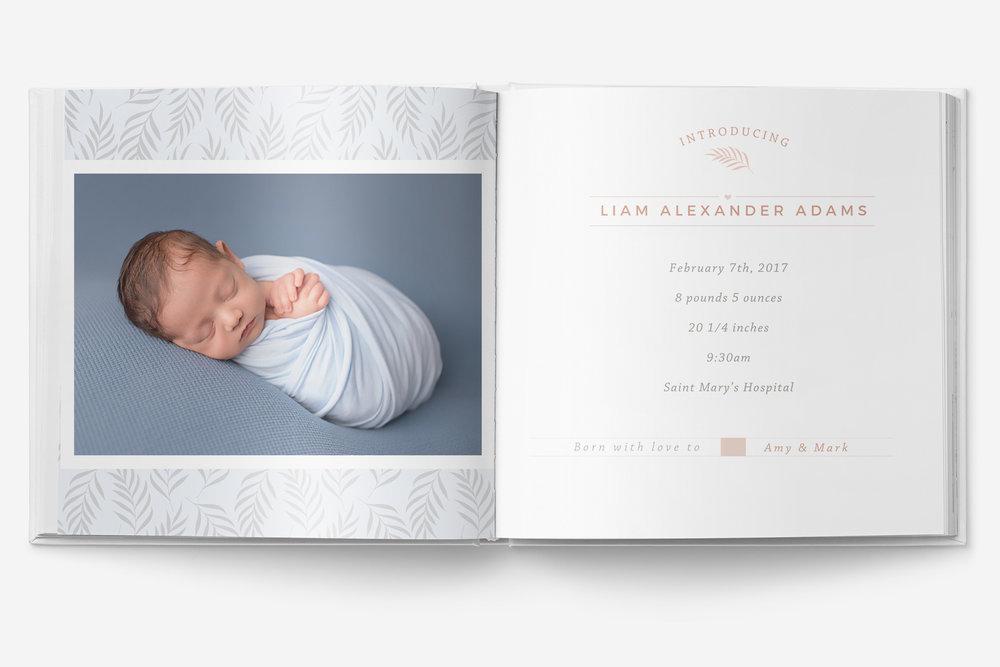 10x10 baby album photoshop template newborn photo album for pro