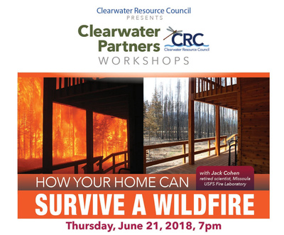 Download event  details  (900 KB)  Additional Tips on to follow for saving your home from wildfire can be found in this  CRC Newsletter .