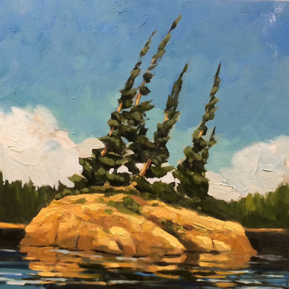SOLD ||  Island, French River by Jamie Jardine
