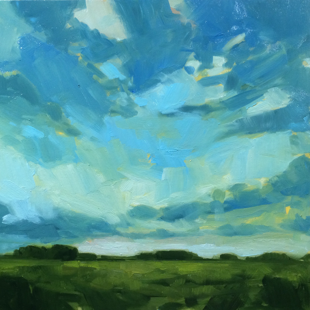 SOLD ||  Sky #2 by Jamie Jardine