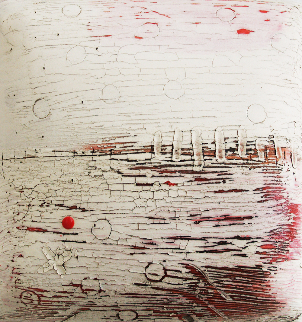 SOLD II Circle Landscape by Lesley McInally